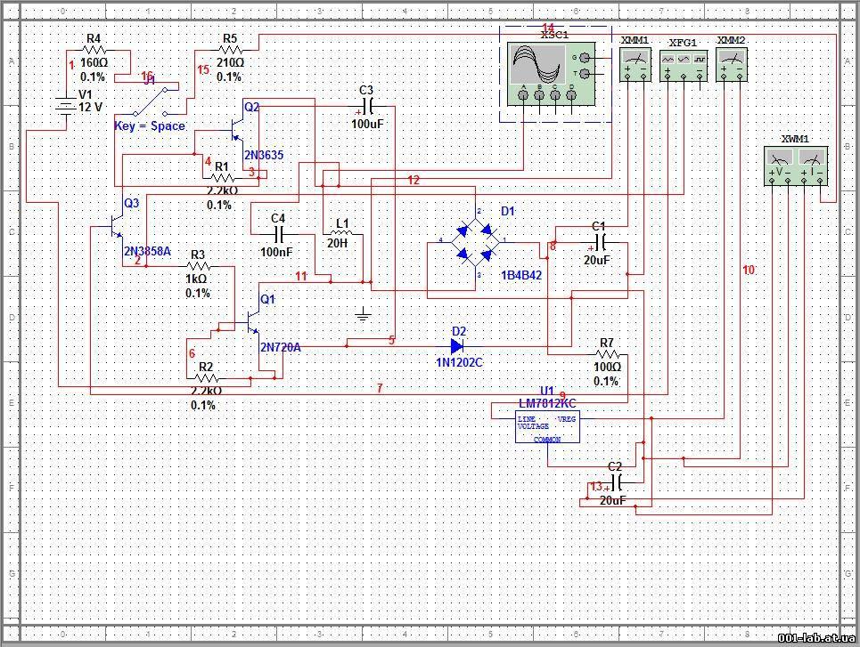Объясню, как работает эта схема, на первоначальном этапе схема запускается от источника питания, затем переключателем...